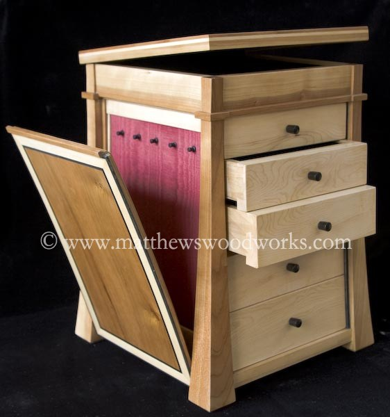 Natural Wood Jewelry Box Types Of Wood
